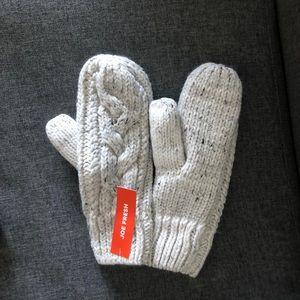 JOE FRESH women mittens